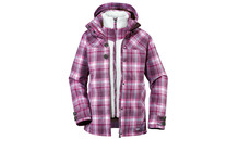 Vaude Women's Yale 3in1 Jacket III raspberry